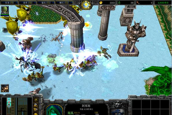 《魔兽》地图:神界危机最终幻想纪念版