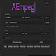 高清ProRes编码解码脚本Aescripts AEmpeg+ffmpeg编解码器