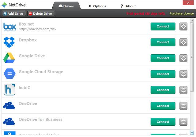 NetDrive_远程存储软件