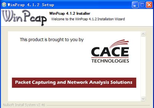 WinPcap截图