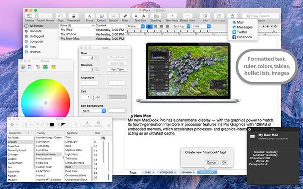 iNotepad Mac版